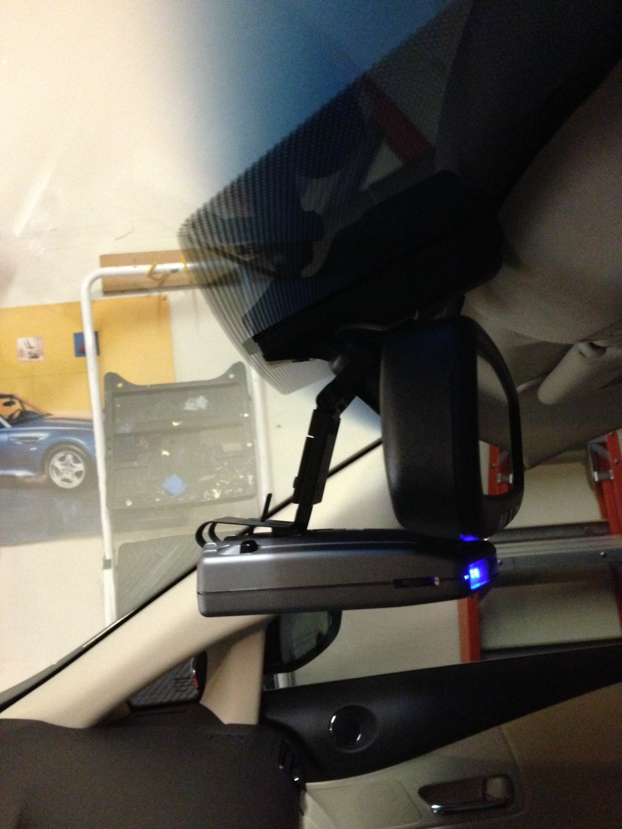 2013 Lexus Rx350 Radar Detector Mirror Mount Complete